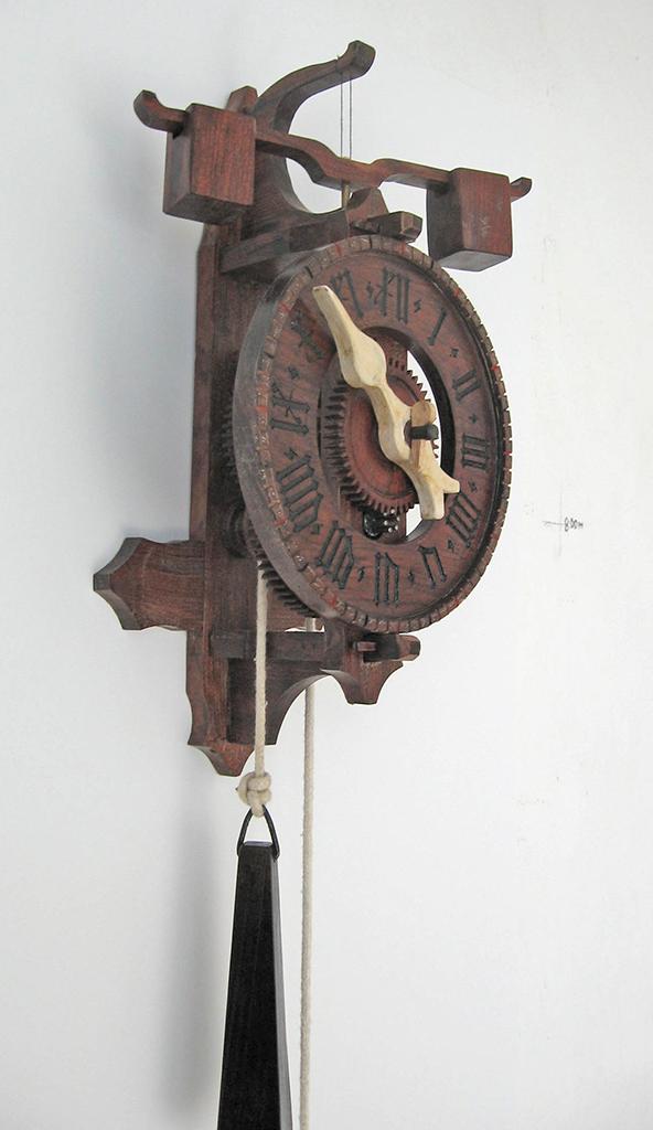 Relojes de pared artesanos dise os originales - Relojes para decorar paredes ...